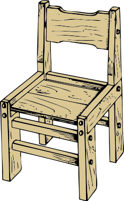 jpg library library Chair clipart old. Wooden clip art panda.