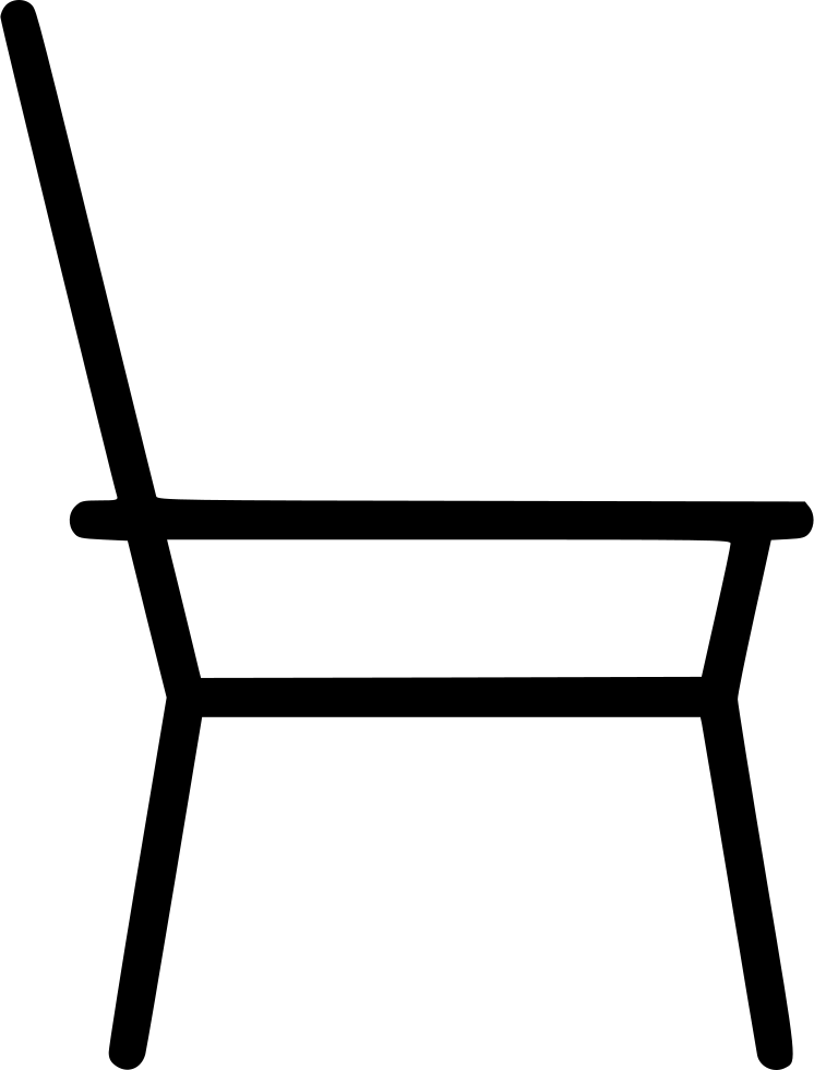 image free stock Chair clipart svg. Simple sketch furniture home.