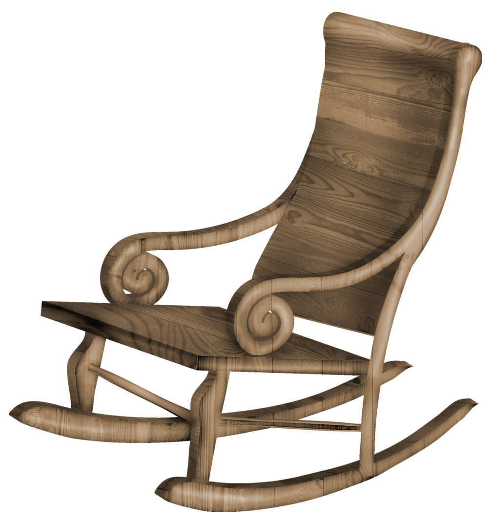 clip transparent Chair clipart transparent background. Rocking png gallery yopriceville.
