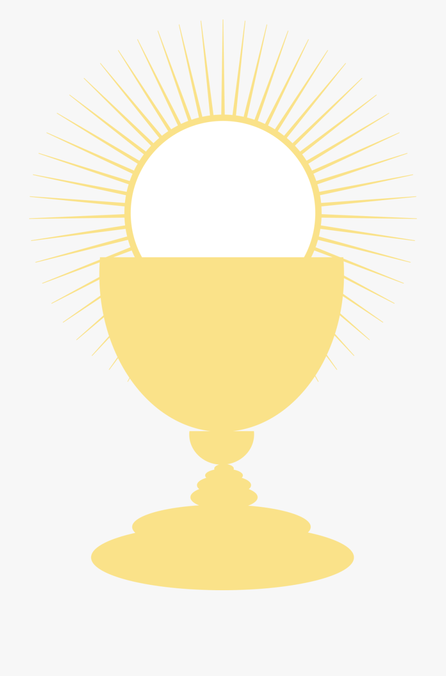 clip art black and white Saints . Chalice clipart first communion.