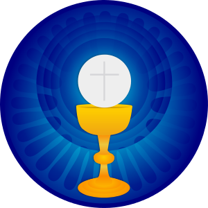 picture library library Holy eucharist by stephencuyos. Chalice clipart first communion.