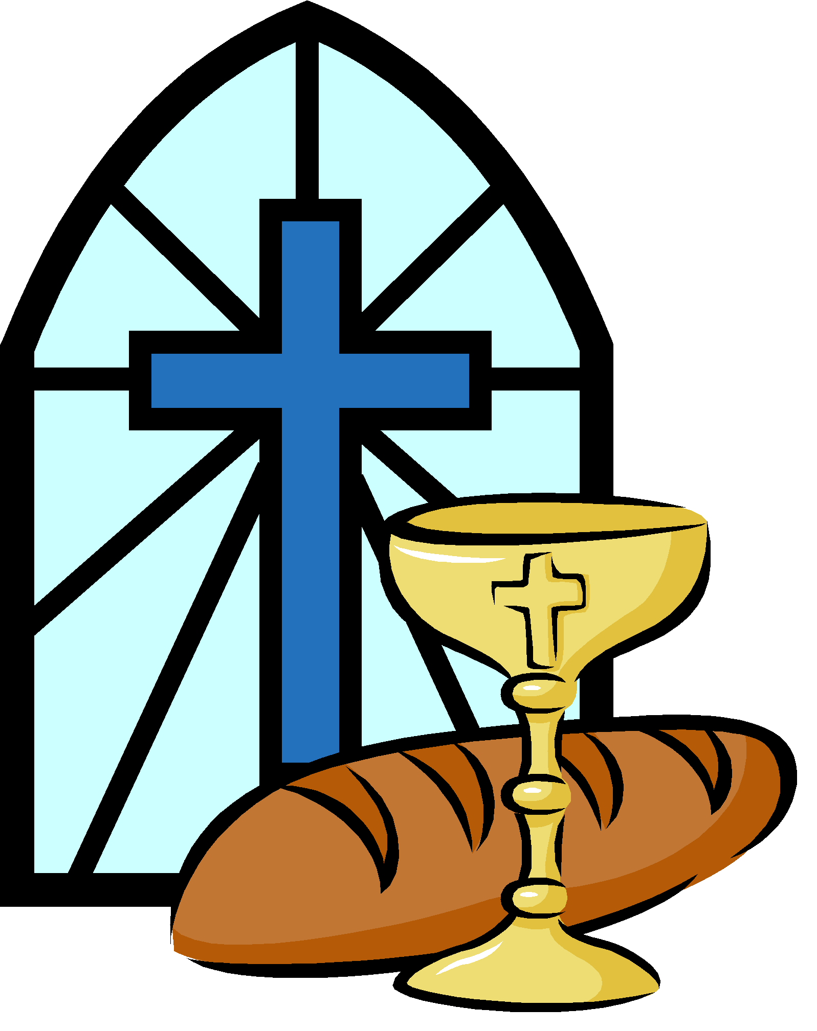 banner download Chalice clipart first communion. Eucharist pictures free gallery.