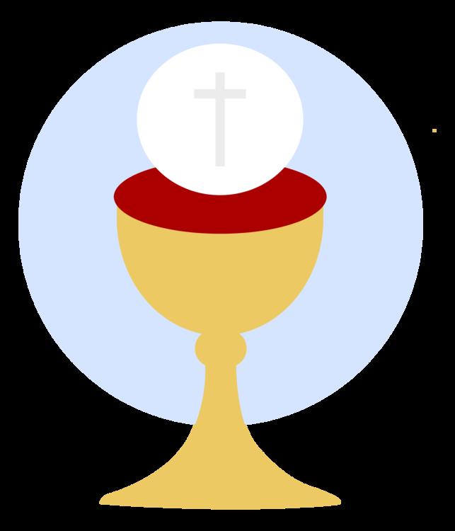 clip art transparent download Chalice clipart sacrament eucharist. First communion sacramental bread.