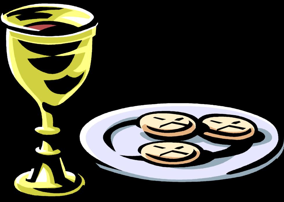 vector transparent download Chalice clipart sacrament eucharist. Catholic communion wine and.