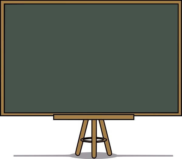 transparent Chalk free vector in. Board clip art