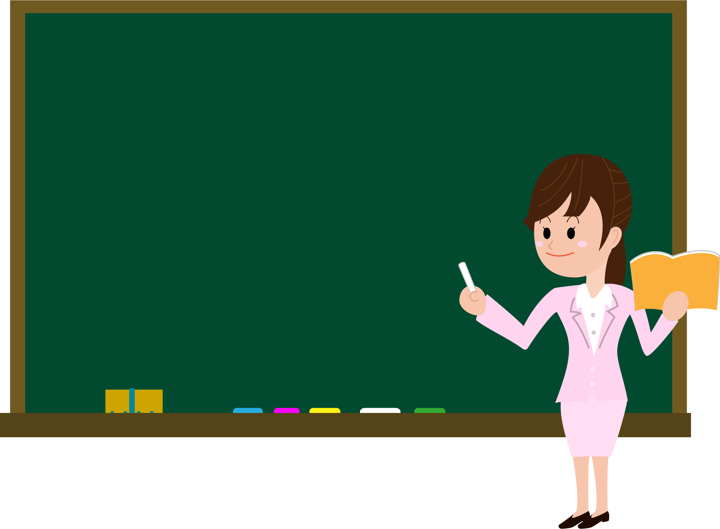 vector library download Blackboard clipart svg. Female teacher big image