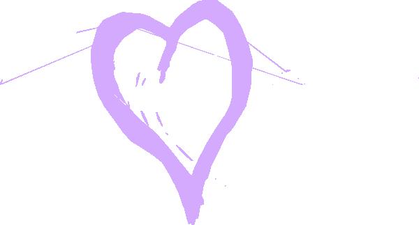 banner freeuse download Chalk clipart heart. Lavendar clip art at.