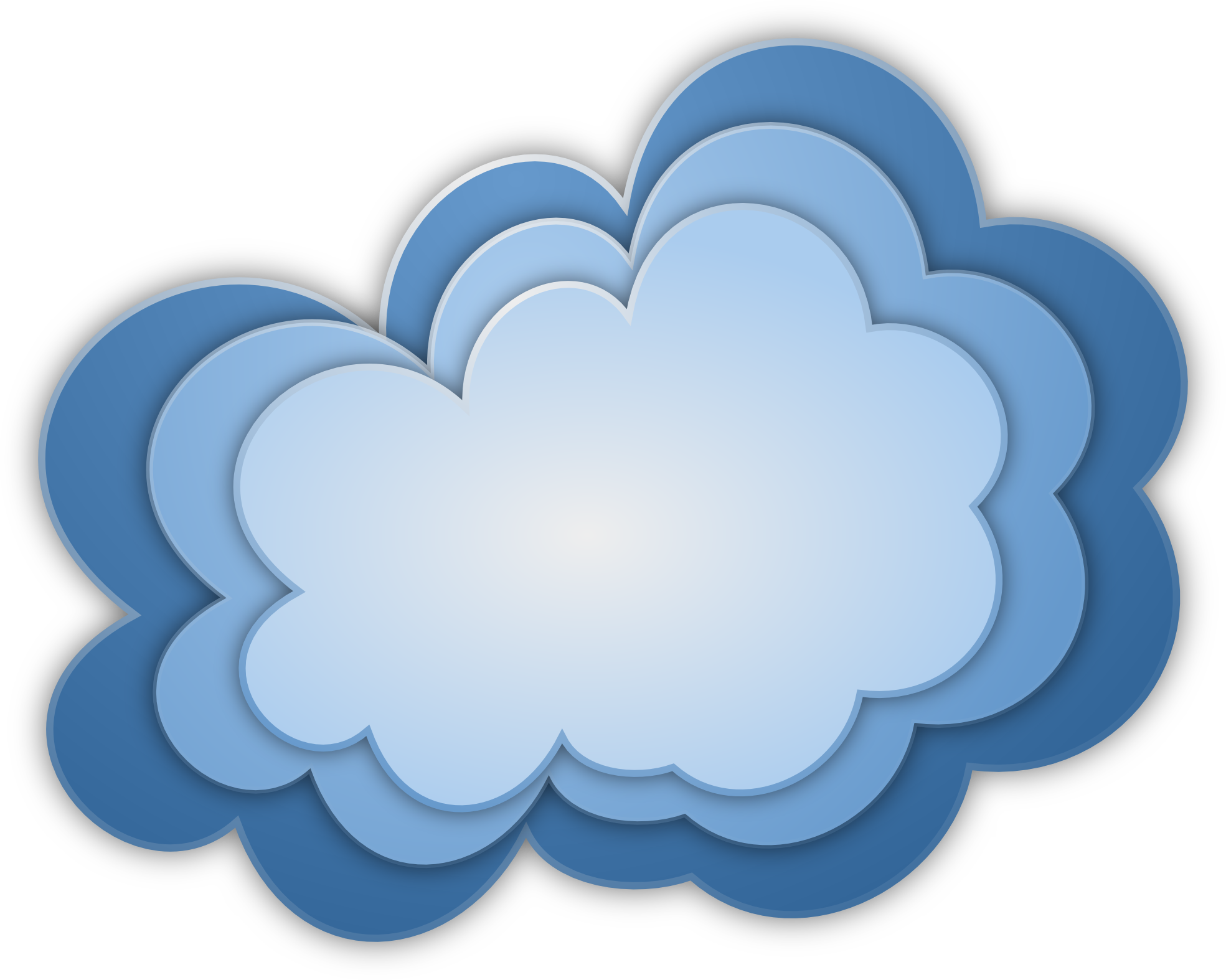 png freeuse download CLOUD VECTOR FREE