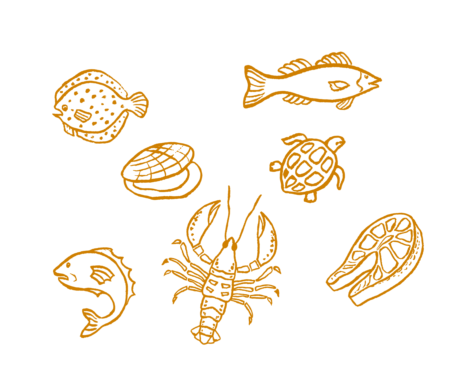 graphic freeuse Crab Food Illustration
