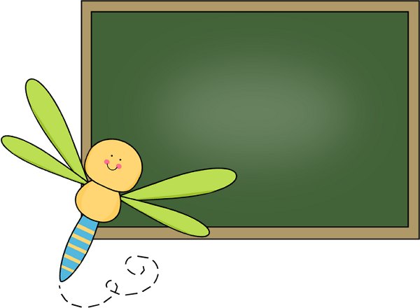 clip art black and white library Clip art images dragonfly. Chalkboard clipart