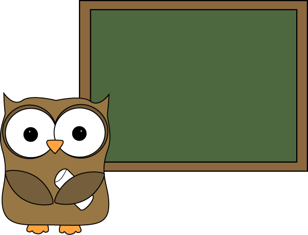 png free stock Owl and blank for. Chalkboard clipart