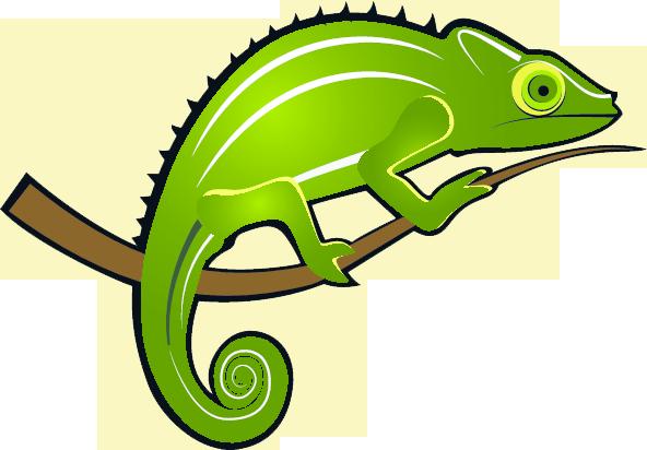 clip black and white stock Chameleon clipart. Chameleons can adapt to