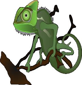 image royalty free stock Clip art at clker. Chameleon clipart chameleon outline