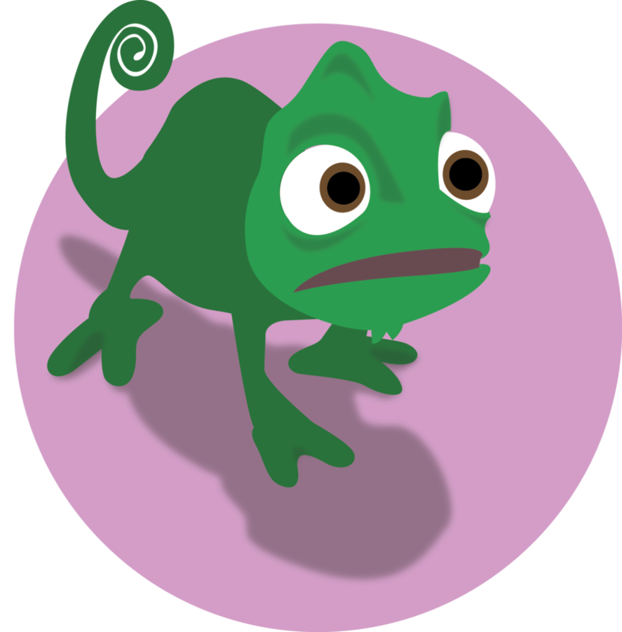 banner transparent stock Pascal google search character. Chameleon clipart drawing.