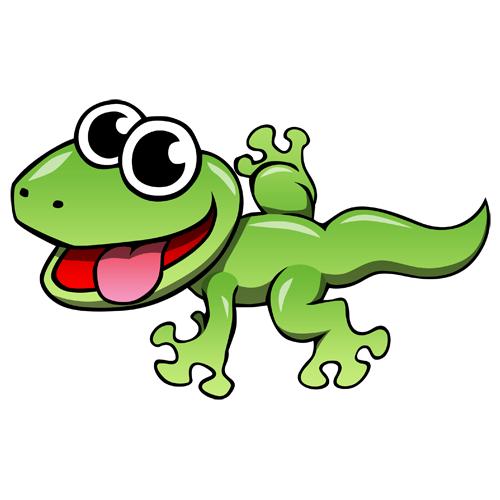 clip royalty free download Cartoon lizard clip art. Gecko clipart lizerd.