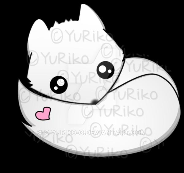 graphic freeuse download Drawing kawaii arctic fox. By o yuriko on