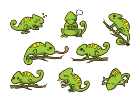 clip art transparent library Chameleon vector. Free art downloads