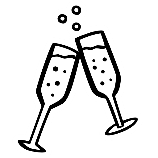 banner black and white download Champagne glass clipart black and white. Icon page png ico