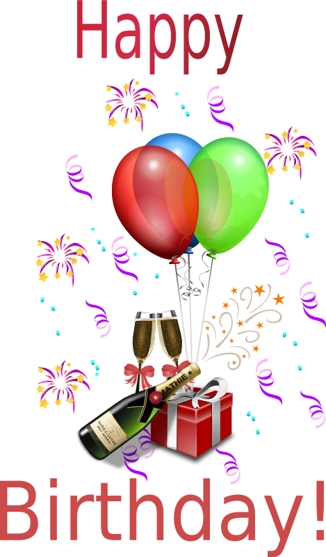 transparent stock Free Birthday Clipart