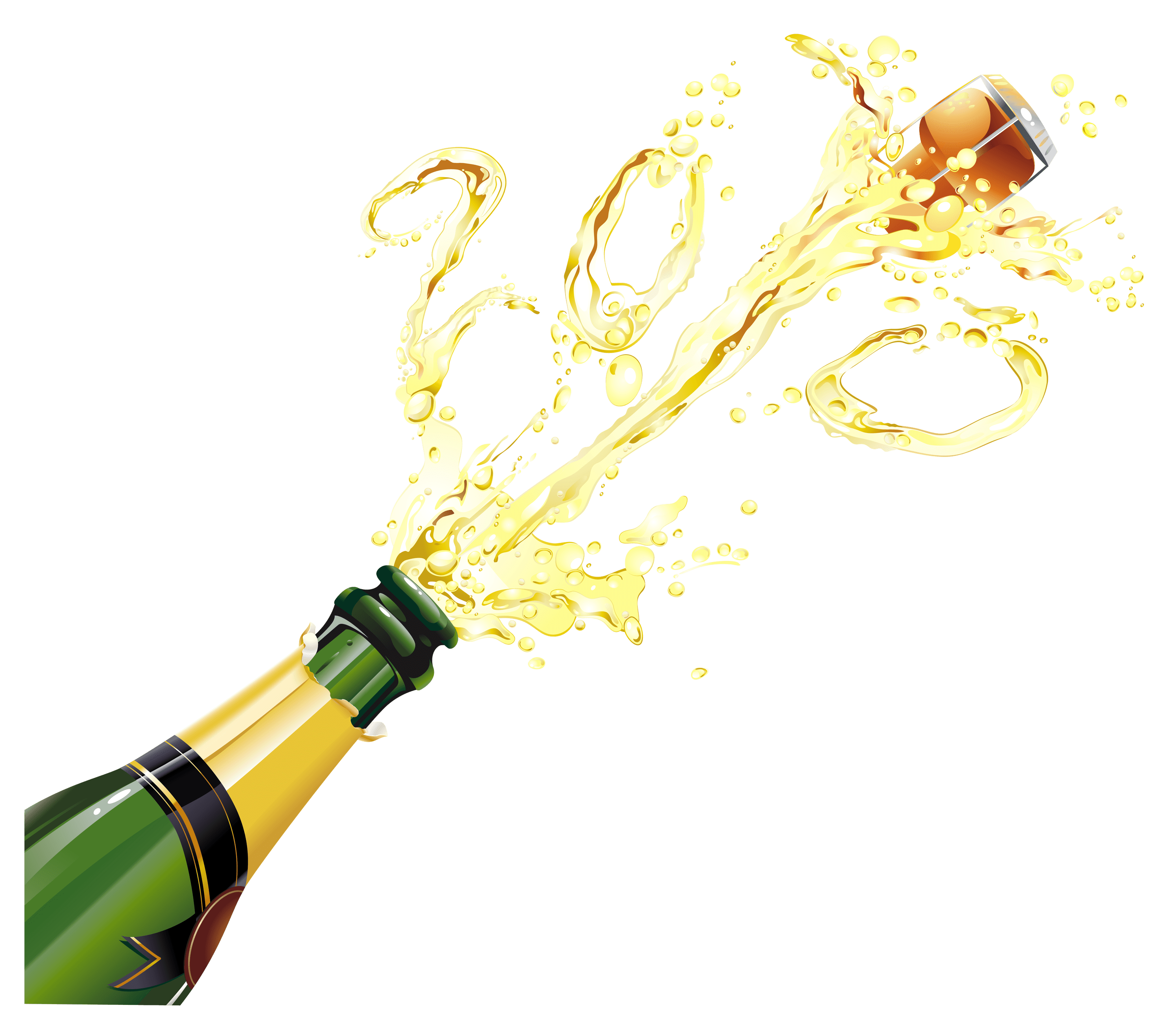 picture library Champaign clipart cheer. Champagne pop transparent png.