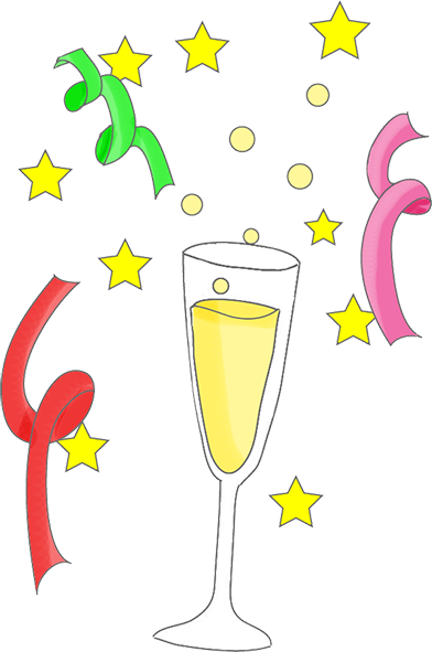 svg royalty free stock Year graphics and stars. Champagne clipart new years eve.