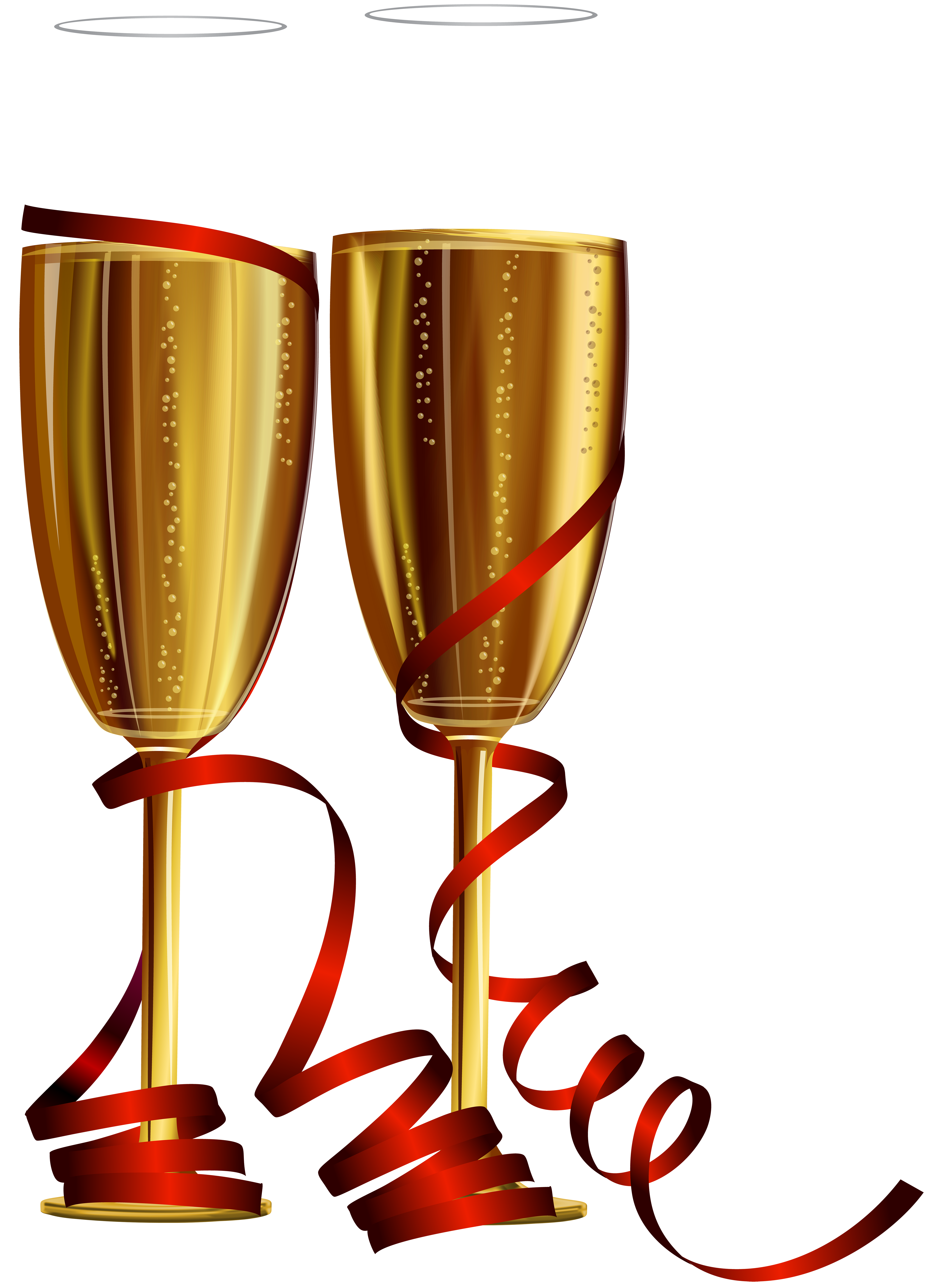 clipart royalty free stock Champagne clipart new years eve. Year glasses png clip.