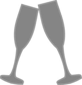 clip art royalty free download Champagne clipart svg. Glass gray clip art.