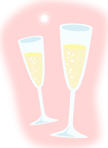 jpg freeuse download Champagne clipart svg. Glasses clip art at.