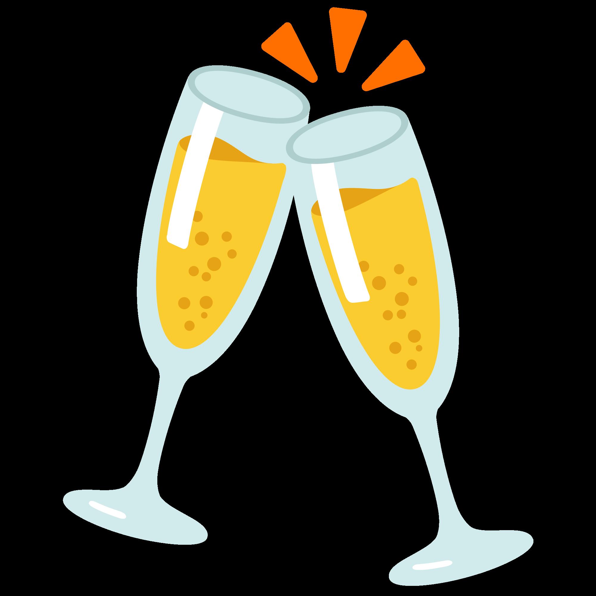 banner royalty free download Champagne clipart svg. File emoji u f.