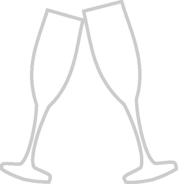 picture black and white Glass gray clip art. Champagne clipart svg.