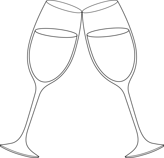 royalty free download Free clip art for. Champagne clipart toasting glass.