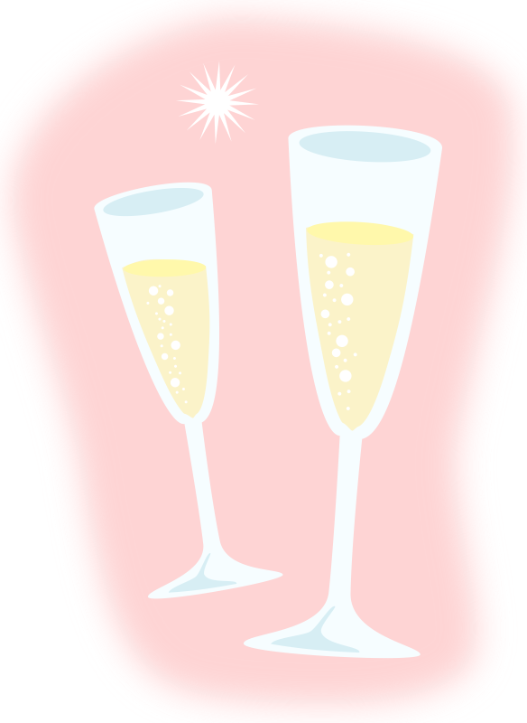 vector freeuse stock Glass hubpicture pin . Champaign clipart champagne clink.