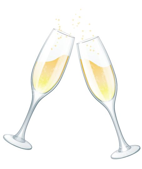 graphic transparent download Champaign clipart cheer. Champagne cup .