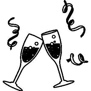 clip art free download Free champagne cheers cliparts. Champaign clipart cheer.