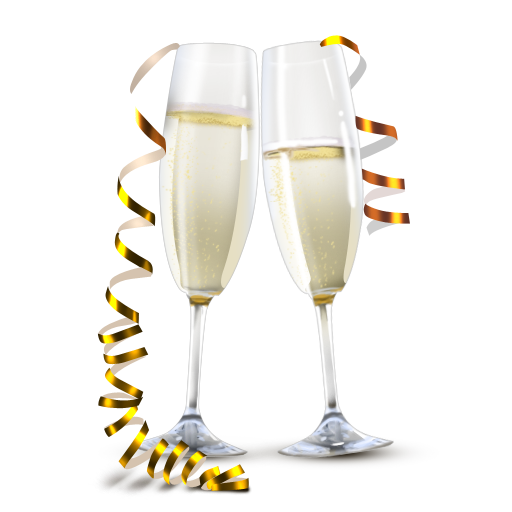 clip art freeuse Champs cheers cocktails pinterest. Champaign clipart cheer.