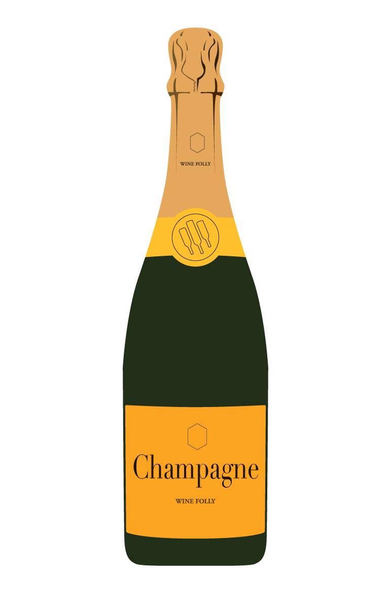 svg Champagne vs Prosecco