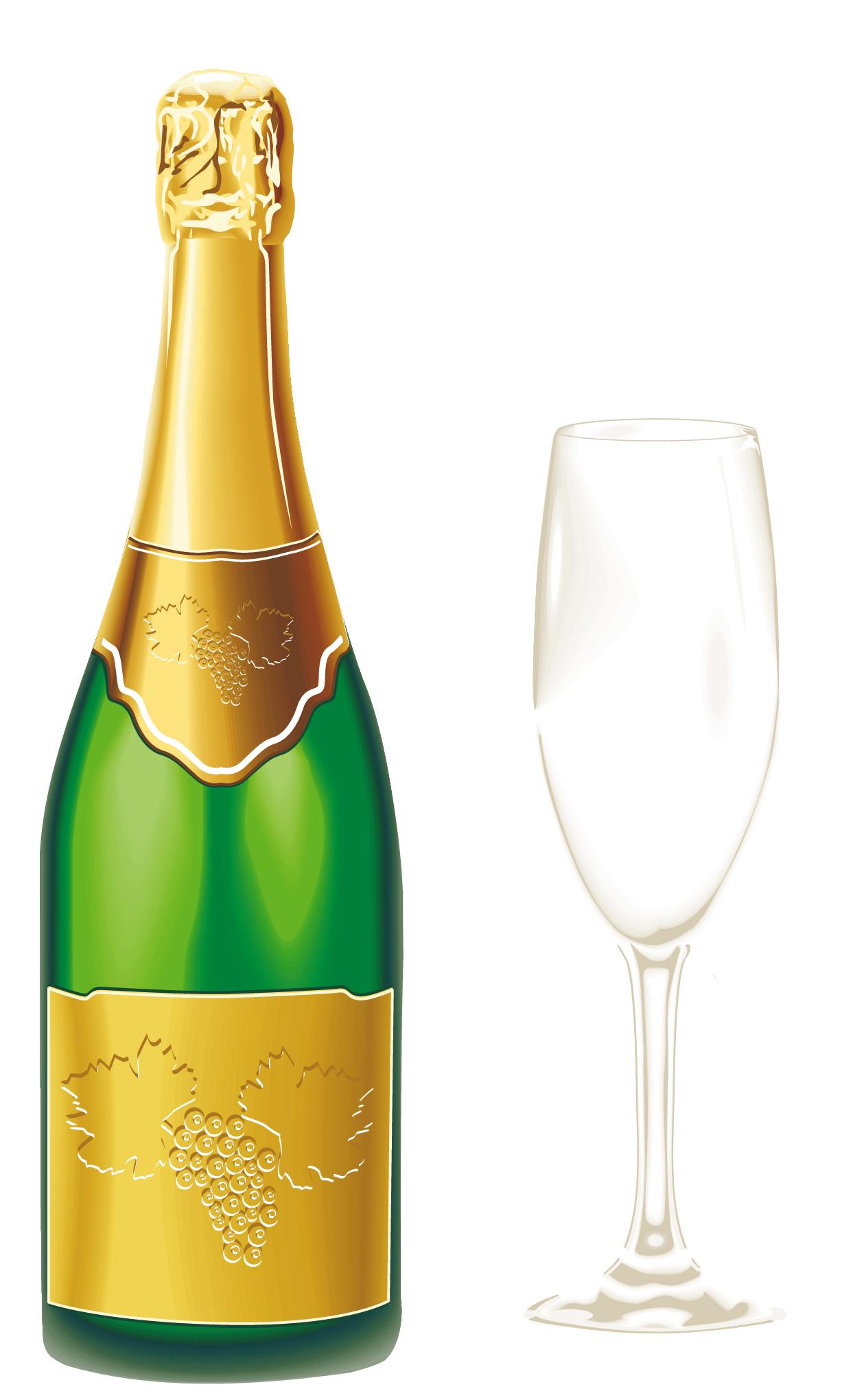 picture freeuse download Champaign clipart wine spirit. Champagne with glass png.