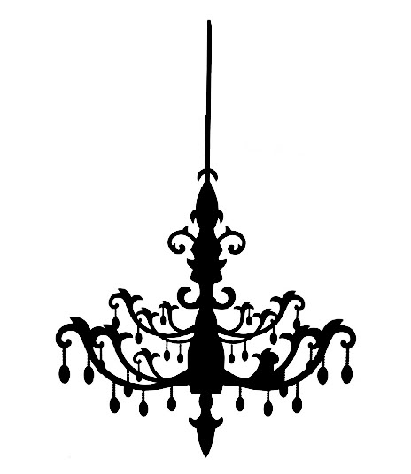 jpg library download Chandelier clipart. Free cliparts download clip