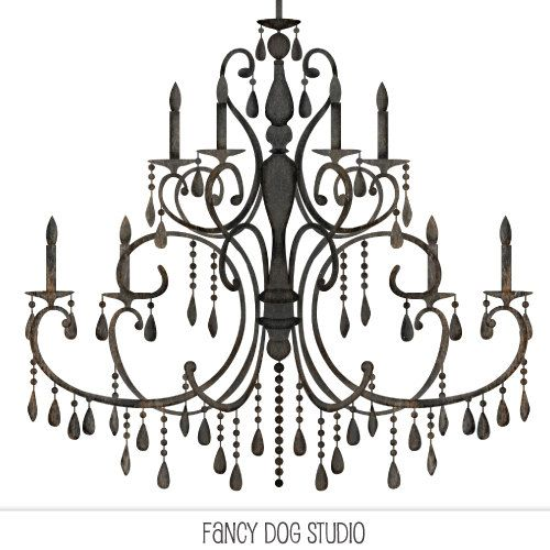 vector freeuse download Silhouettes silhouette . Chandelier clipart