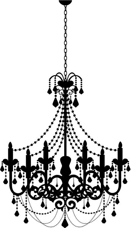 vector freeuse Chandelier clipart. Free download on webstockreview.