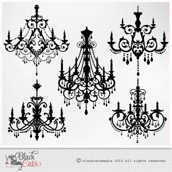 graphic transparent Chandelier clipart baroque. Ornamental decorative eps png.