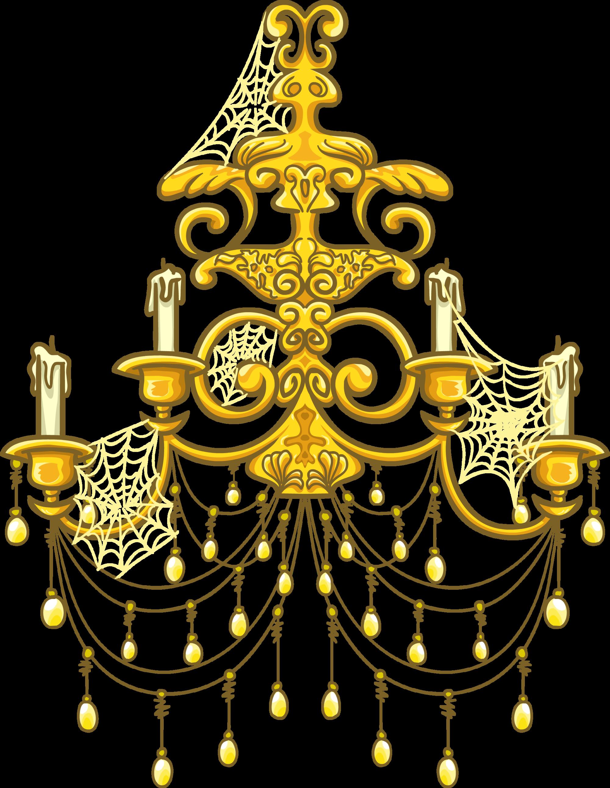 clip art free download Chandelier clipart golden chandelier. Image gold sprite png