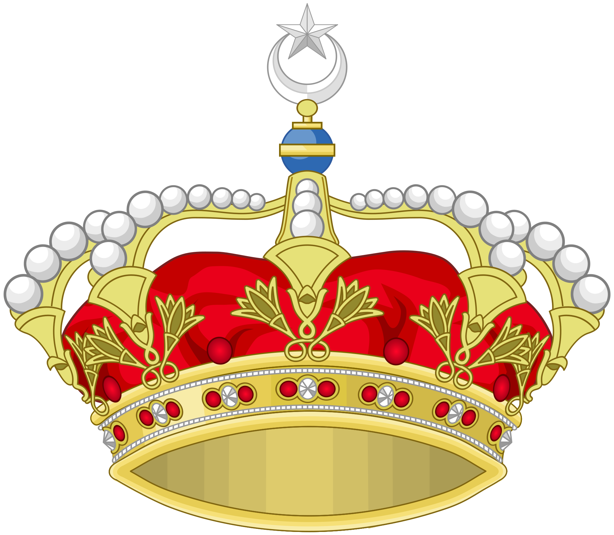 clipart royalty free library Chandelier clipart svg. File heraldic royal crown.