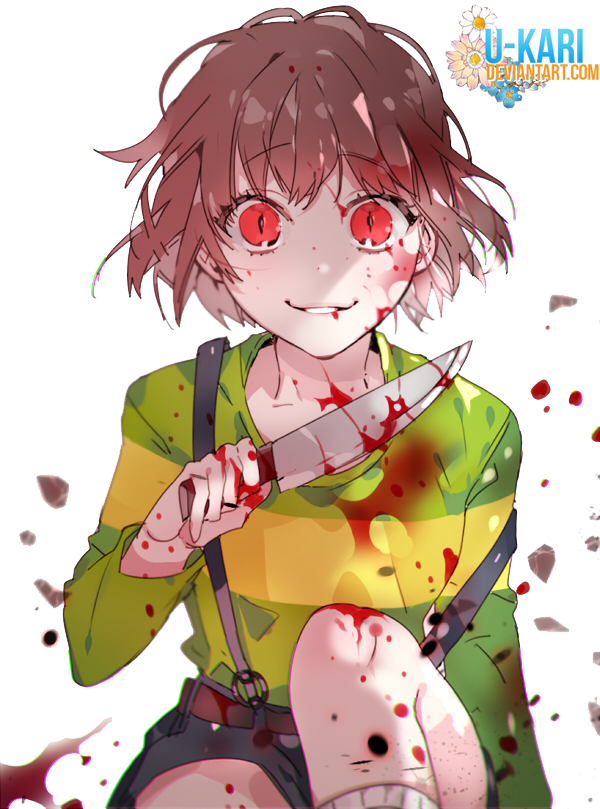 png freeuse Chara Undertale render