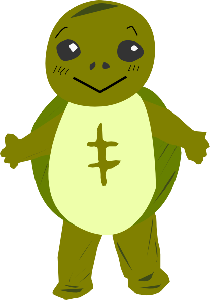 freeuse library Character clipart. Turtle clip art at