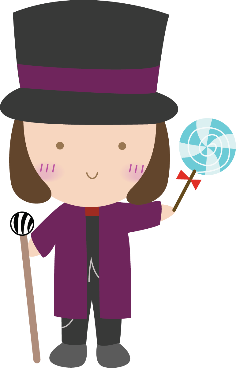clip art royalty free stock Willy wonka and the. Character clipart candy.