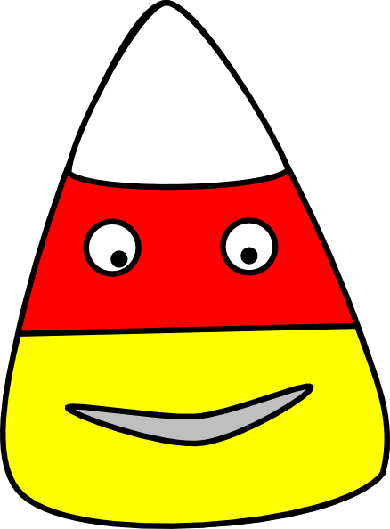 jpg library Character clipart candy. Corn clip art at.