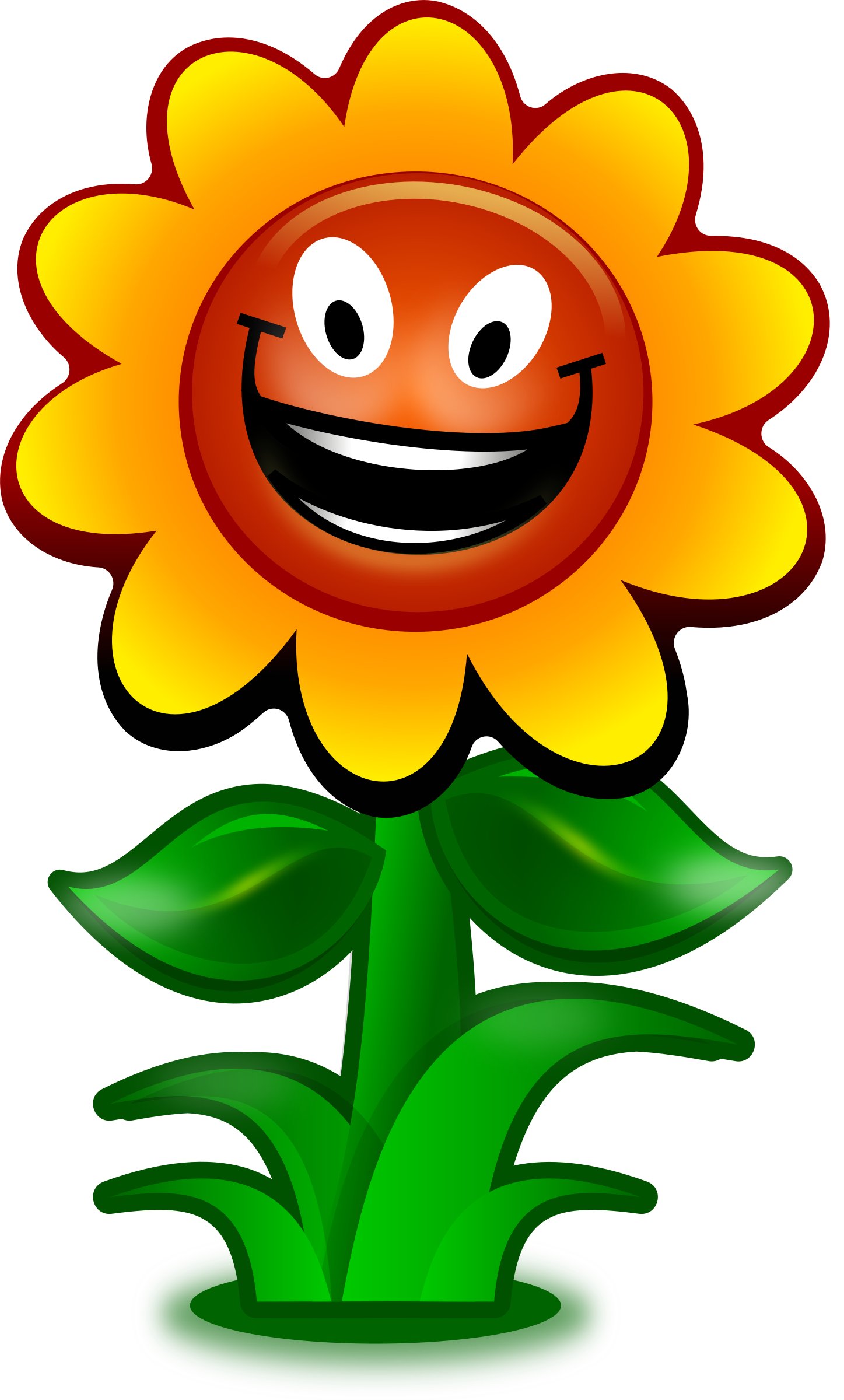 free Character clipart flower. Cartoon game big image.