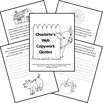 clip black and white stock Charlotte's web clipart. Mrs lagrana s grade