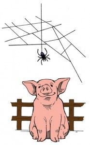 png free stock Charlotte's web clipart. Charlottes station